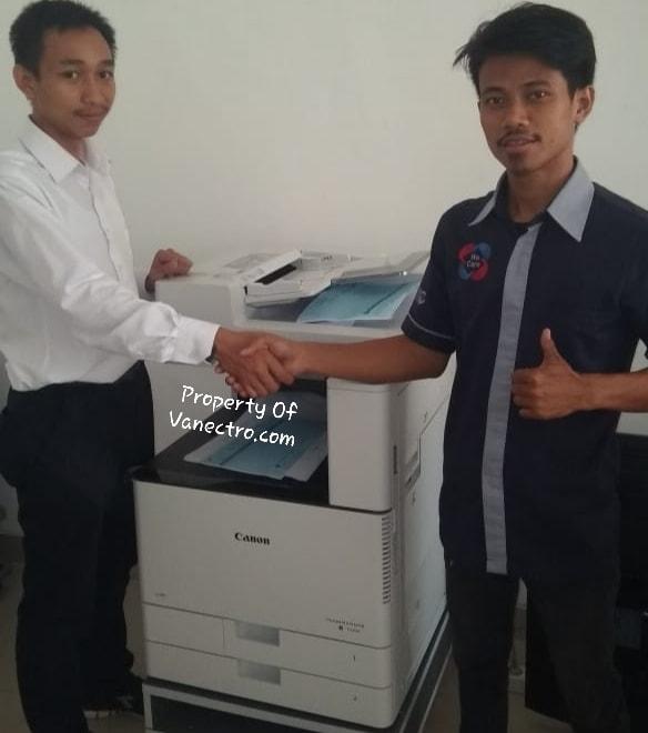 Pengiriman Penjualan Mesin Fotocopy Mesin Fotocopy Canon Ir C3020 + Dadf Milik Bp. Gatot