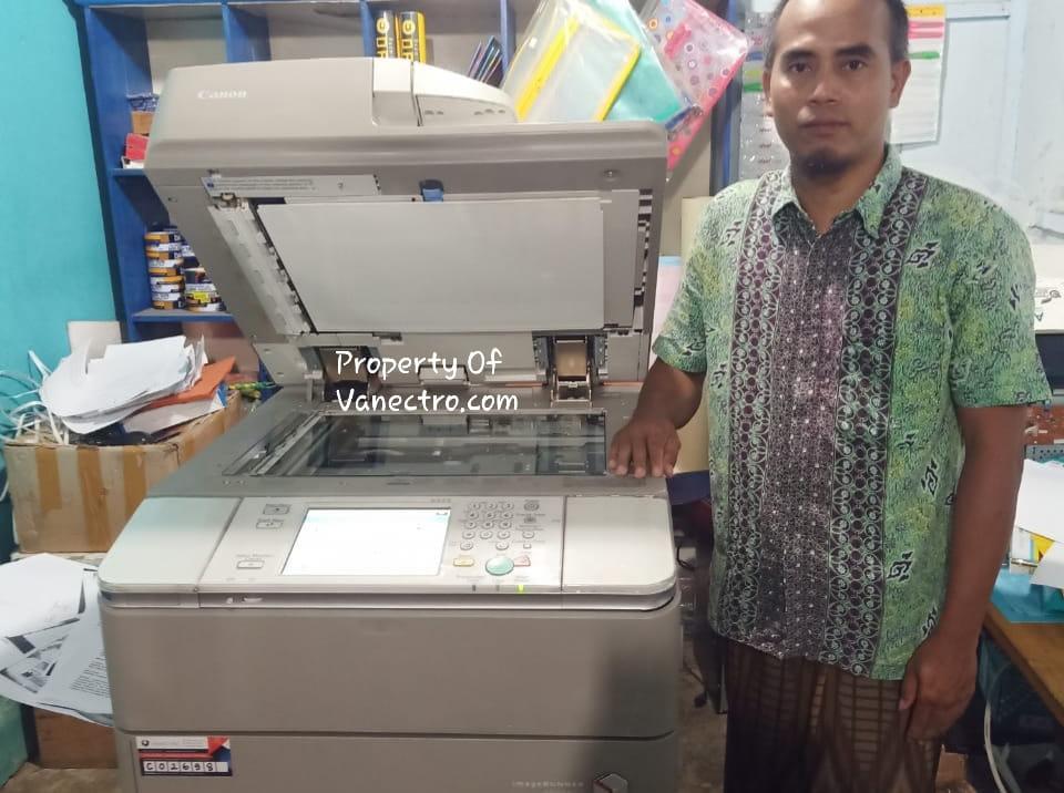 Pengiriman Penjualan Mesin Fotocopy Mesin Fotocopy Canon Ira 6075 | 6065 | 6055 - Paket Usaha Fotocopy Milik Bp. Sofyan