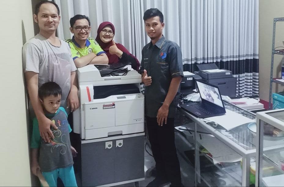Pengiriman Penjualan Mesin Fotocopy Mesin Fotocopy Canon Ir 2006n Dadf Milik Bp. Aliyudin