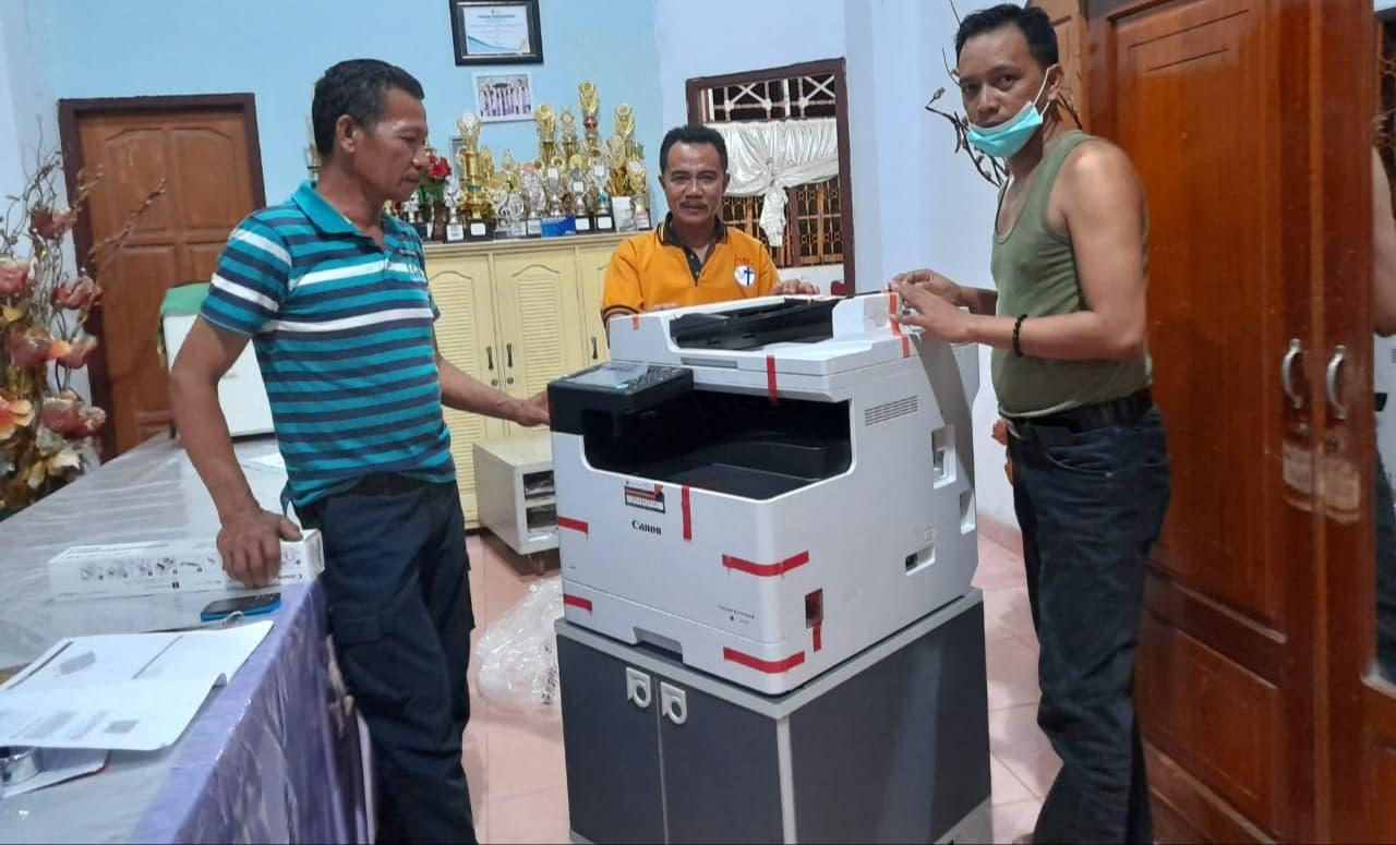 Pengiriman Penjualan Mesin Fotocopy Mesin Fotocopy Canon Ir 2425 Dadf Milik Bp. Martson