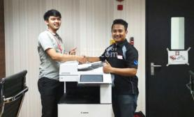 Penjualan Mesin Fotocopy  Canon IRA C3525 + DADF - Mabes Polri - JAKARTA SELATAN