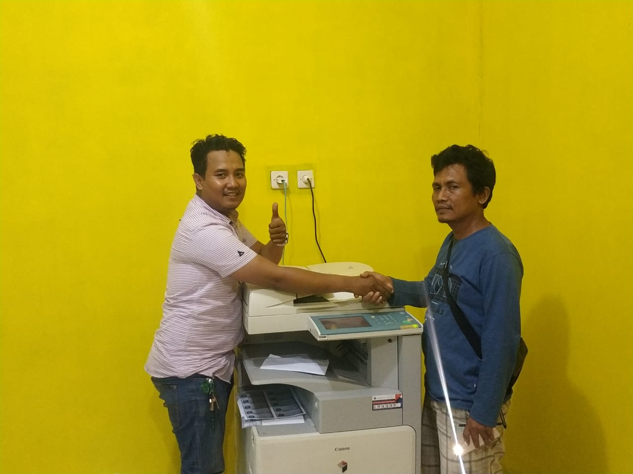 Pengiriman Penjualan Mesin Fotocopy Mesin Fotocopy Canon Ir 3045 | 3035 Milik Bp. Sutrisno