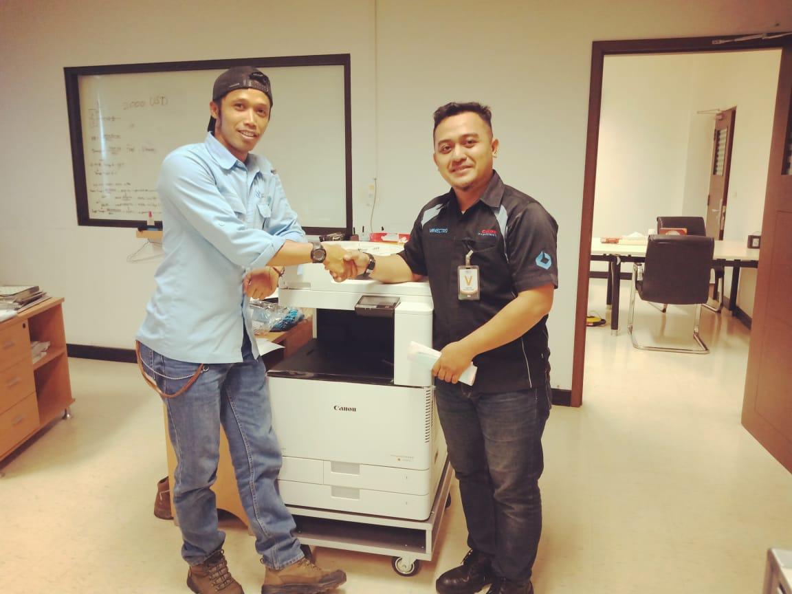 Pengiriman Penjualan Mesin Fotocopy Mesin Fotocopy Canon Ir C3020 + Dadf Milik Pt.cirebon Power