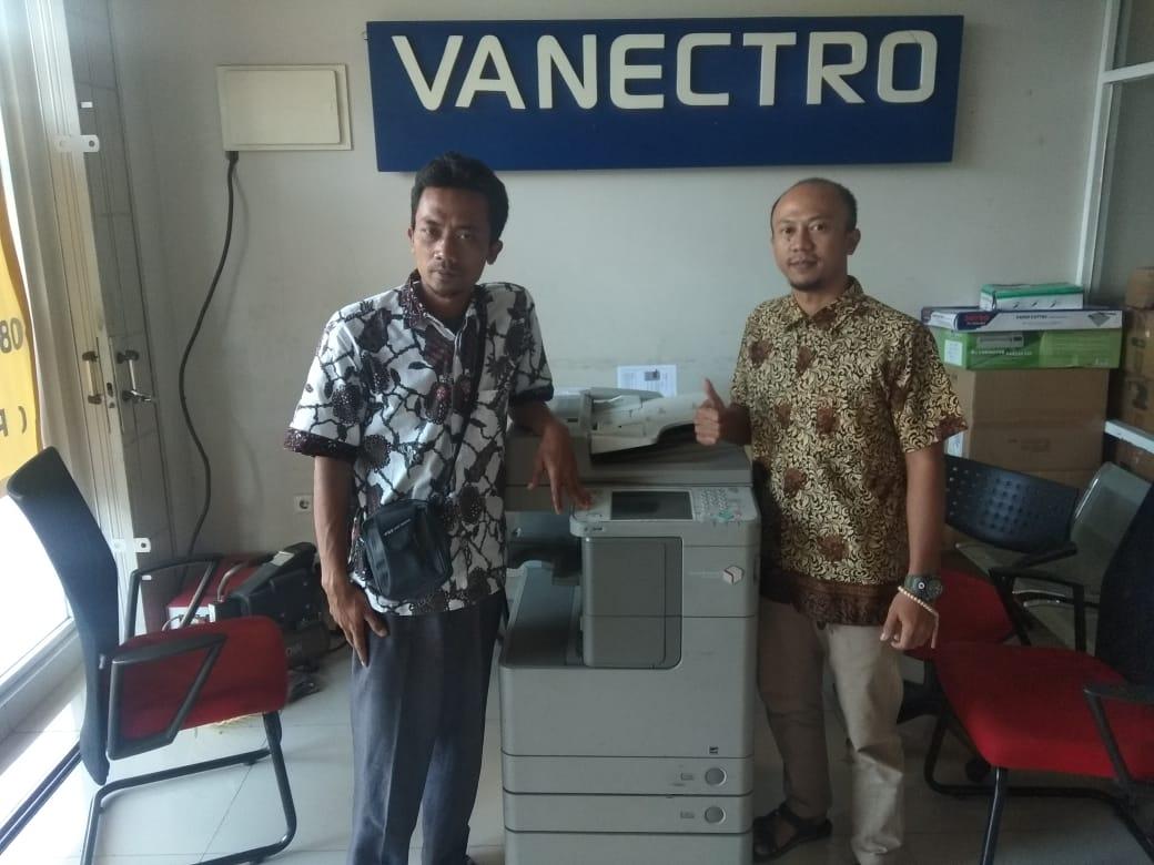 Pengiriman Penjualan Mesin Fotocopy Canon Ira 4035 | 4045 - Paket Usaha Fotocopy Milik Bp. Ahmad