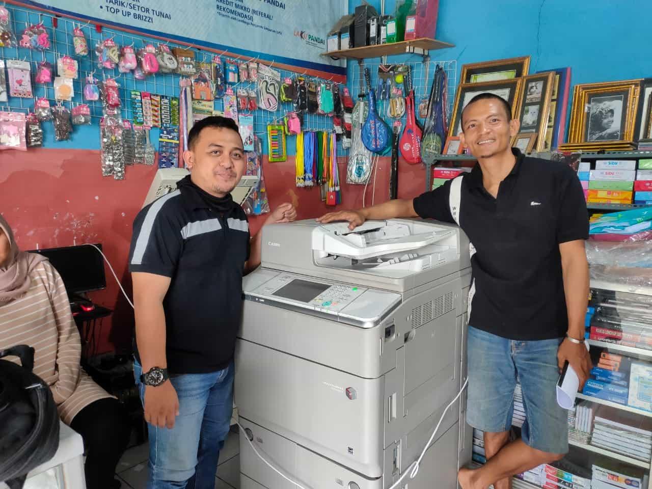 Pengiriman Penjualan Mesin Fotocopy Mesin Fotocopy Canon Ira 6055 | 6255 - Paket Usaha Fotocopy Milik Bp. Ahmad Yusuf