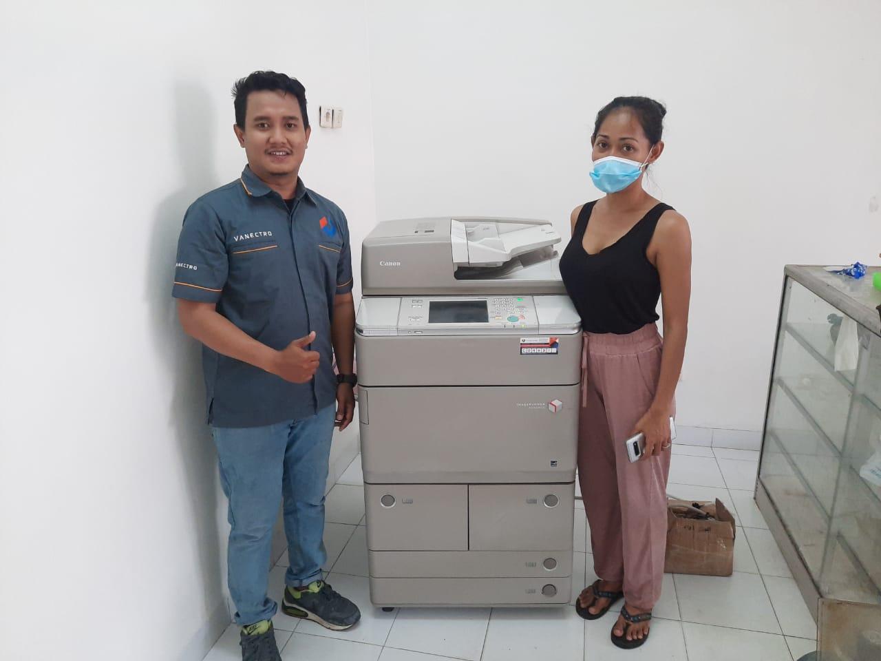 Pengiriman Penjualan Mesin Fotocopy Mesin Fotocopy Canon Ira 6275 | 6265 | 6255 Milik Ibu Nick Noll