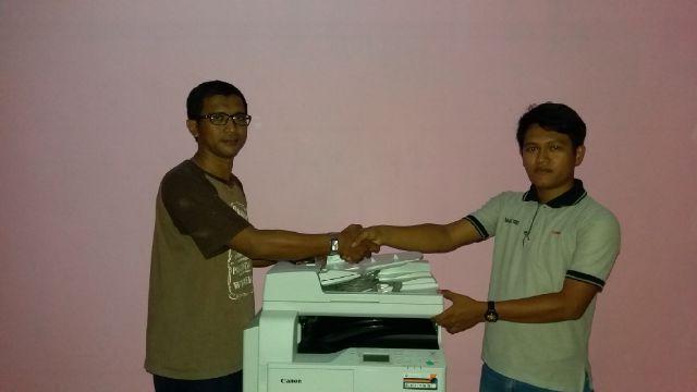 Pengiriman Penjualan Mesin Fotocopy Mesin Fotocopy Canon Ir 2004n + Dadf Milik Bp. Agus