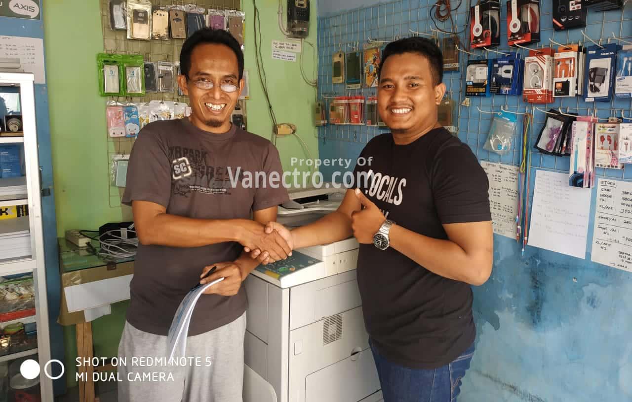 Pengiriman Penjualan Mesin Fotocopy Canon Ir 5000 | 6000 Milik Bp. Abbas