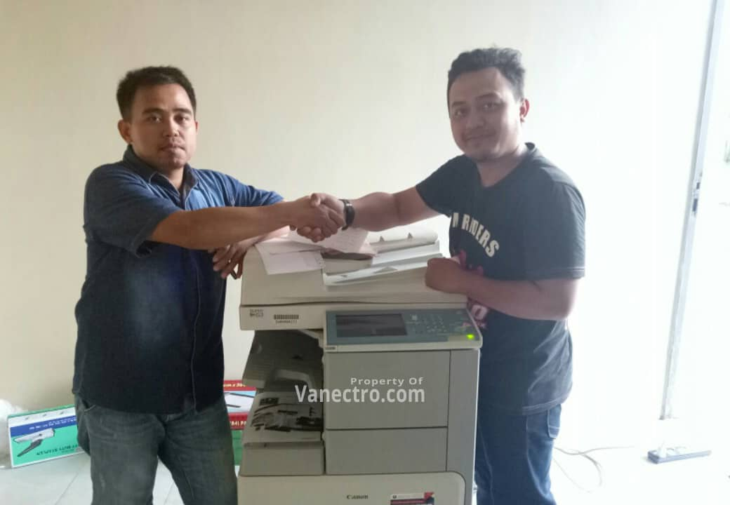 Pengiriman Penjualan Mesin Fotocopy Canon Ir 3245| 3235 Milik Bp. Ade