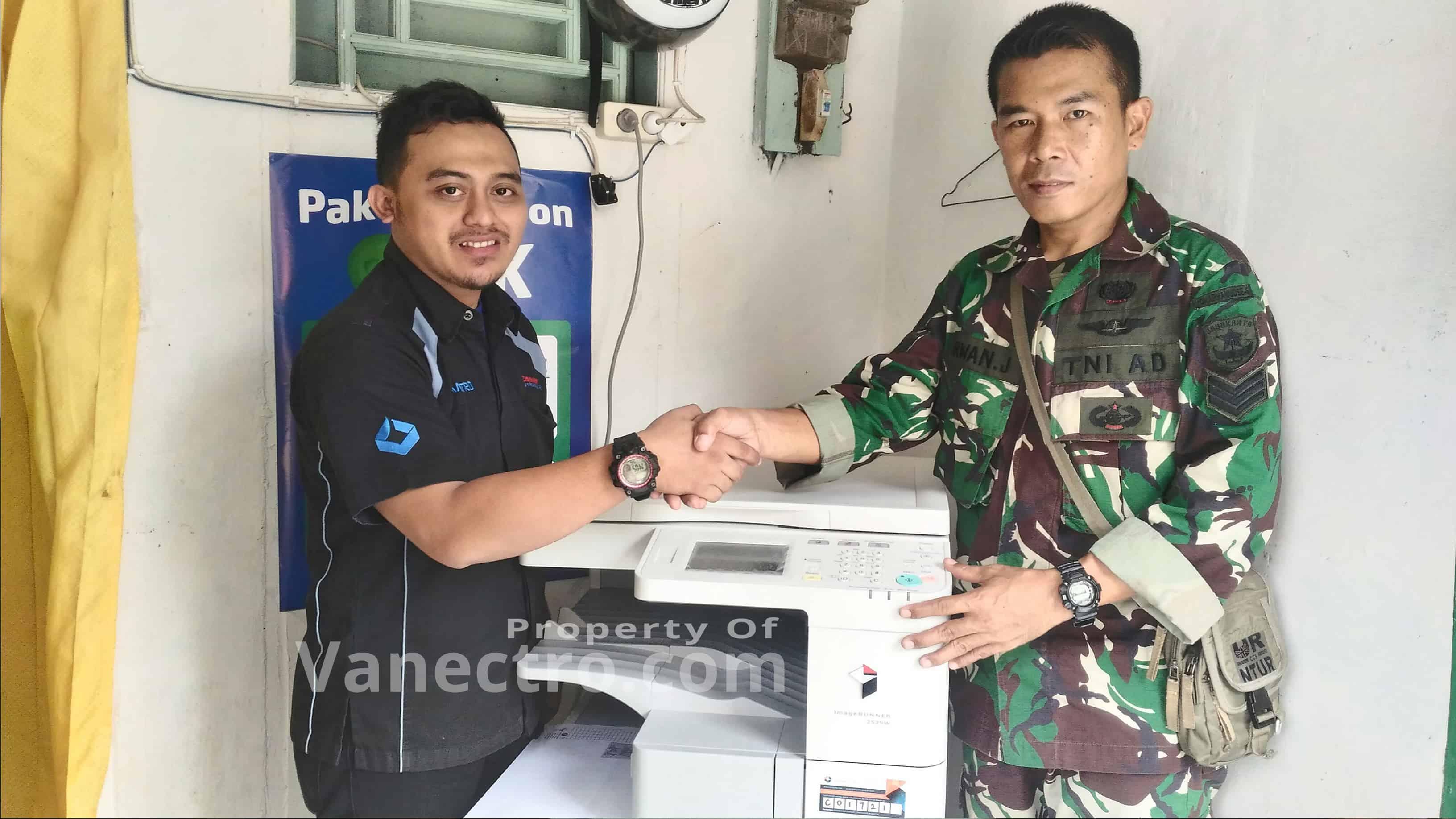 Pengiriman Penjualan Mesin Fotocopy Mesin Fotocopy Canon Ir 2525 + Platten Milik Bp. Erwan