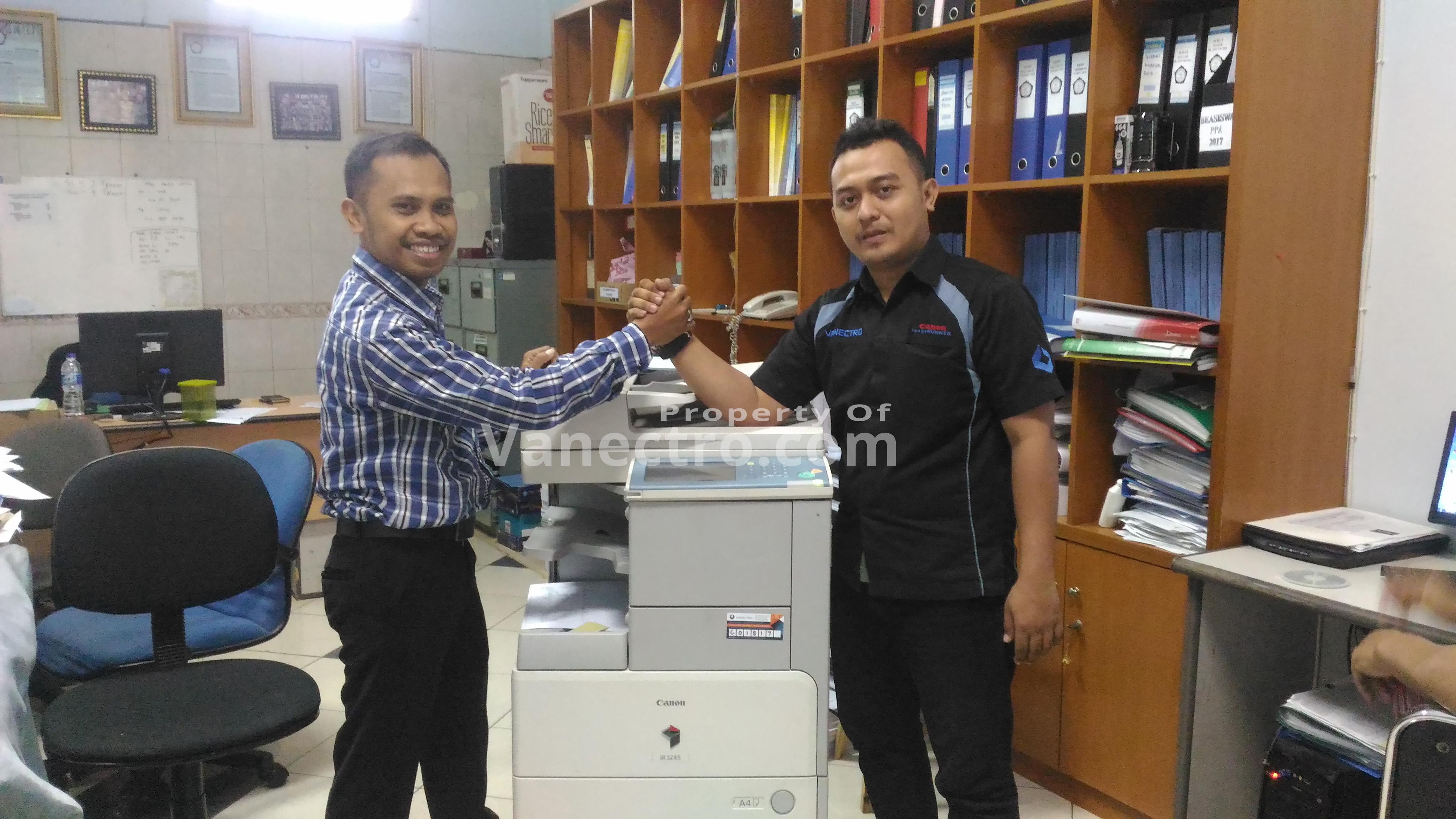 Pengiriman Penjualan Mesin Fotocopy Mesin Fotocopy Canon Ir 3245| 3235 Milik Bp. Idris