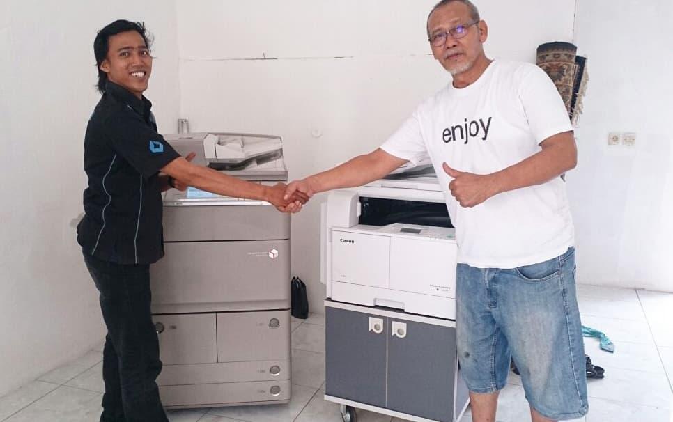 Pengiriman Penjualan Mesin Fotocopy Mesin Fotocopy Canon Ir 2004n + Dadf Milik Bp. Kusmargono - Eti
