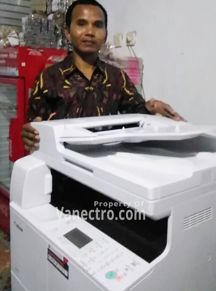 Pengiriman Penjualan Mesin Fotocopy Mesin Fotocopy Canon Ir 2004n + Dadf Milik Bp Rafiq Ntb