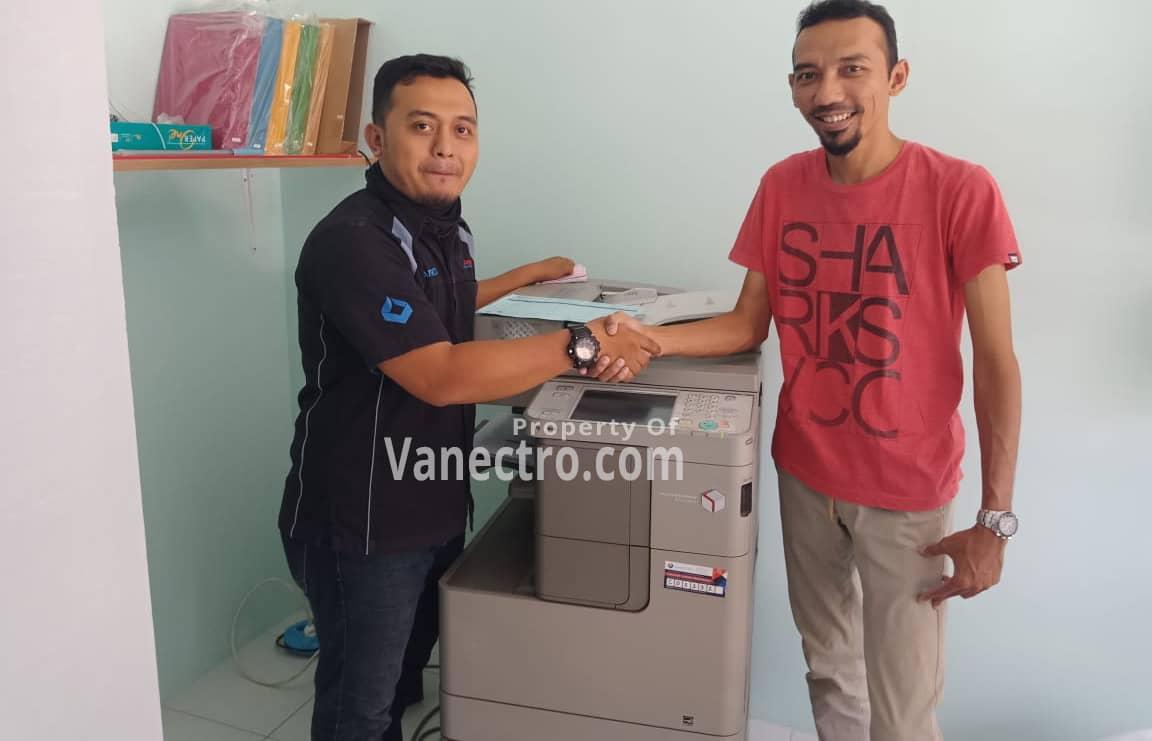 Pengiriman Penjualan Mesin Fotocopy Canon Ira 4035 | 4045 - Paket Usaha Fotocopy Milik Bp. Reza