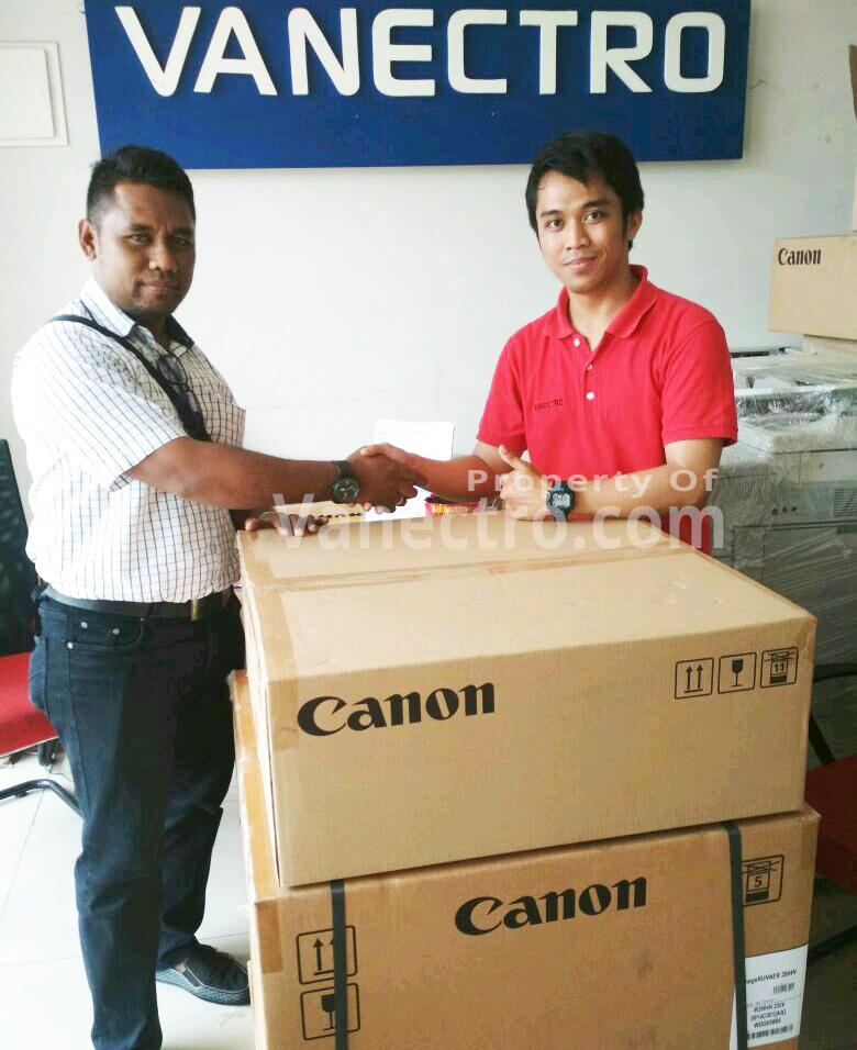 Pengiriman Penjualan Mesin Fotocopy Mesin Fotocopy Canon Ir 2004n + Dadf Milik Bp. Ronald