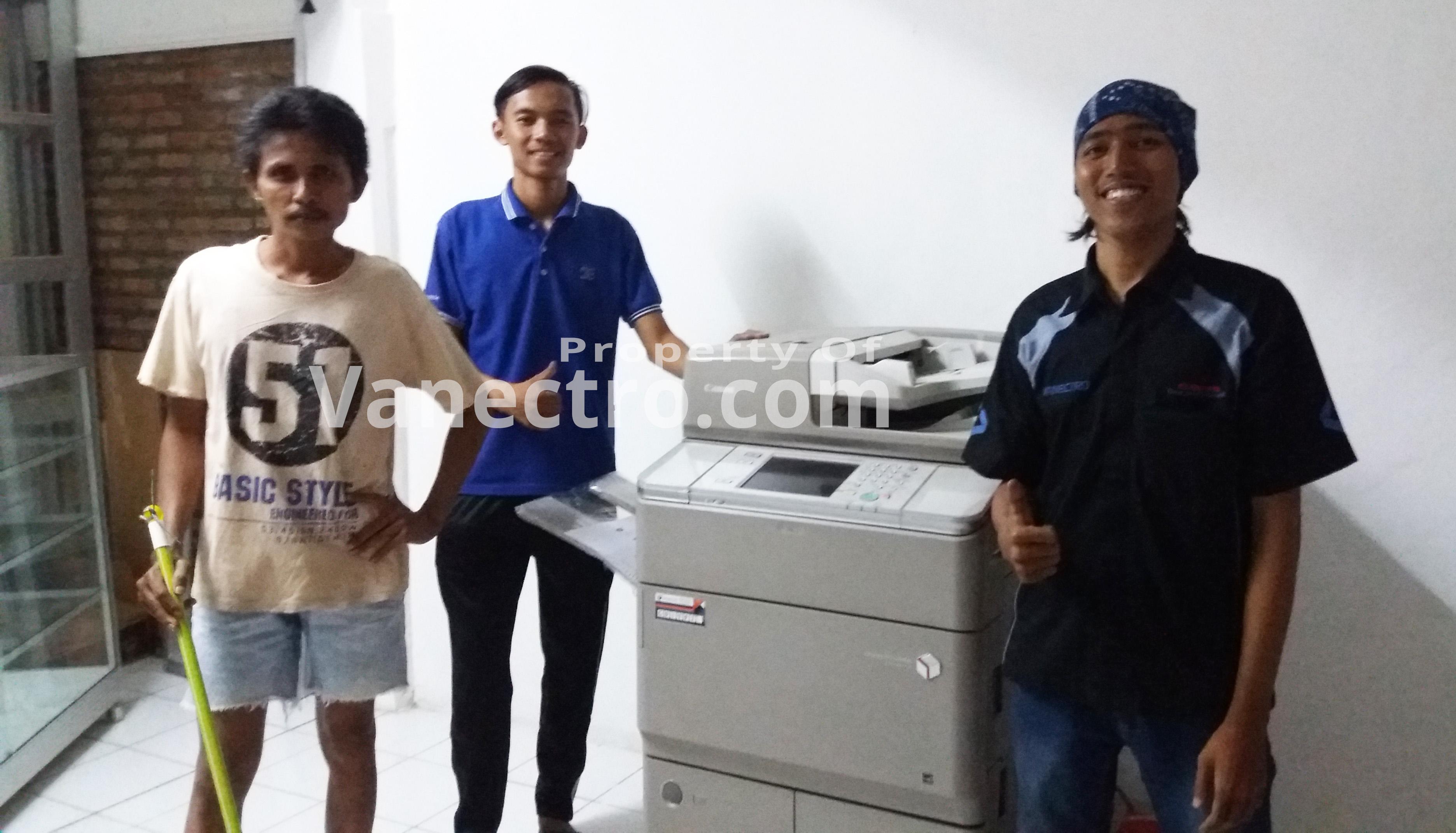 Pengiriman Penjualan Mesin Fotocopy Mesin Fotocopy Canon Ira 6065 | 6055 Milik Bp. Roni