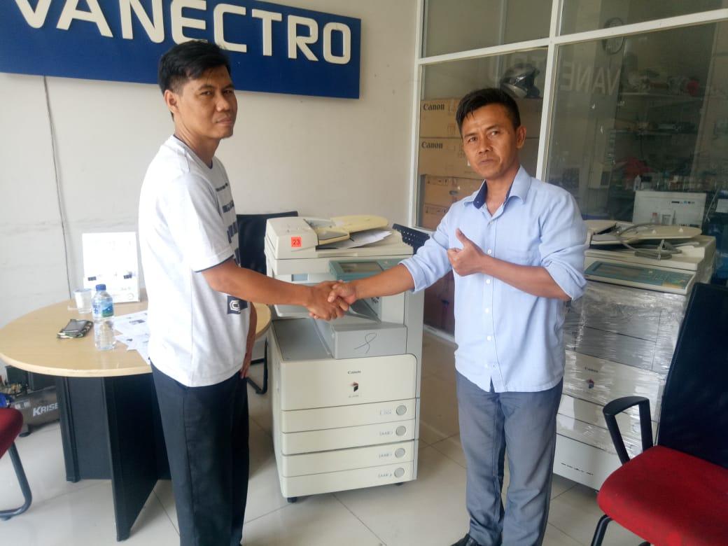 Pengiriman Penjualan Mesin Fotocopy Mesin Fotocopy Canon Ir 3045 | 3035 - Paket Usaha Fotocopy Milik Bp. Sutisna