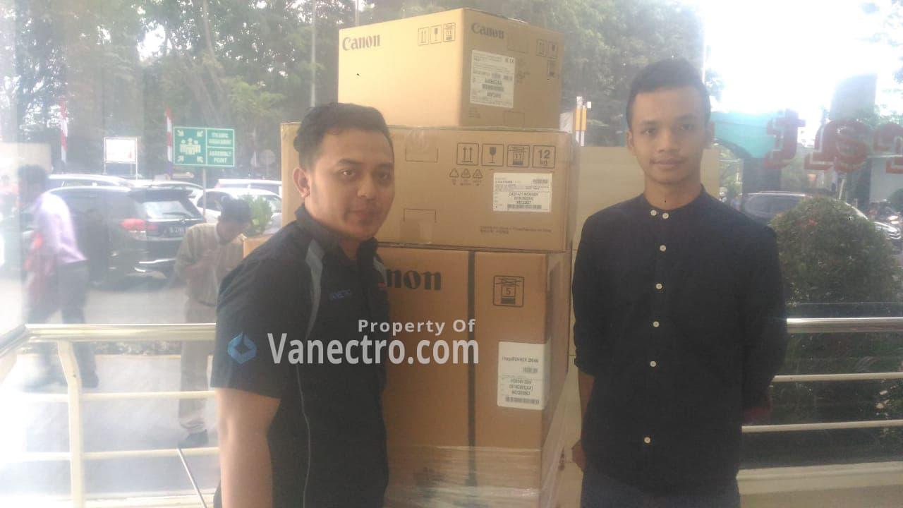 Pengiriman Penjualan Mesin Fotocopy Canon Ir 2004n + Dadf Milik Bp Wahono