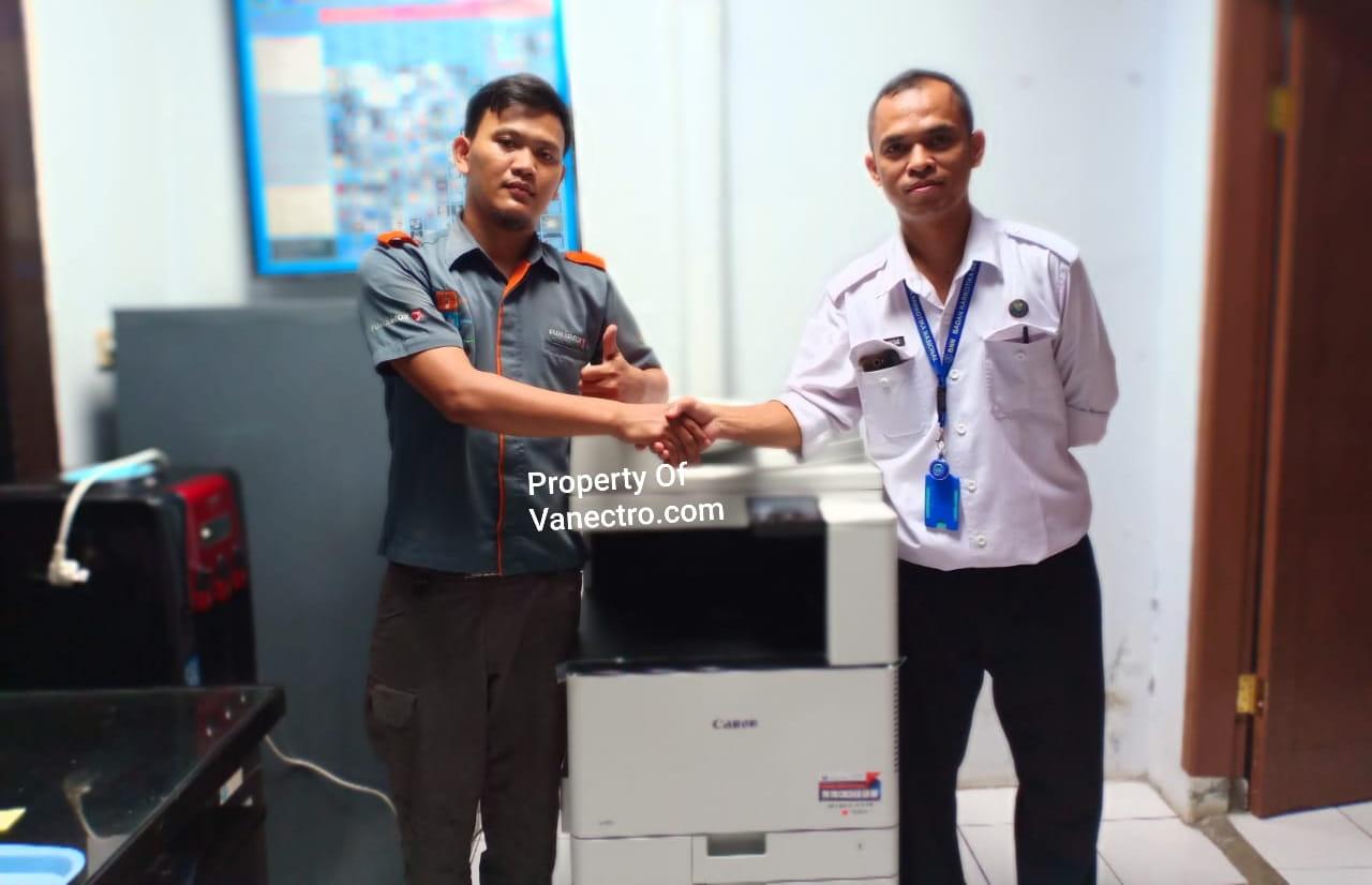 Pengiriman Penjualan Mesin Fotocopy Mesin Fotocopy Canon Ir C3020 + Dadf Milik Bp. Apri Bnn
