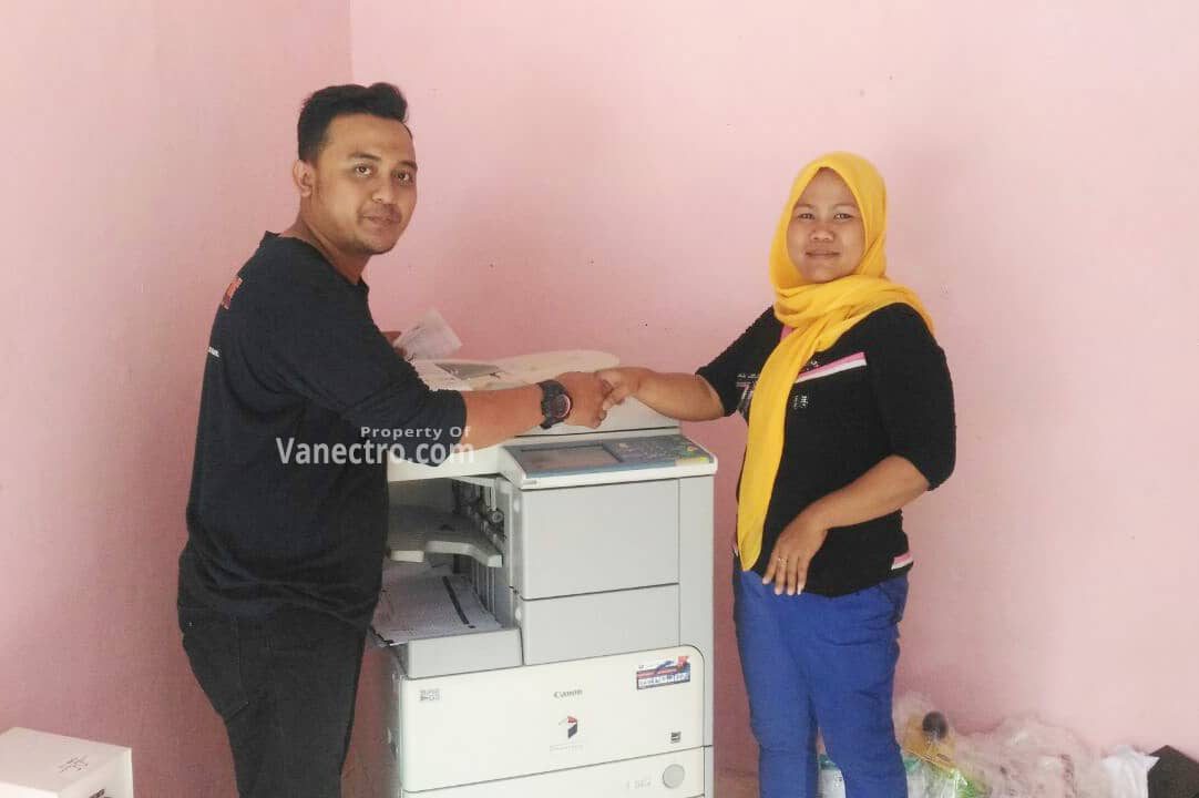 Pengiriman Penjualan Mesin Fotocopy Canon Ir 3045 | 3035 Milik Ibu Sri