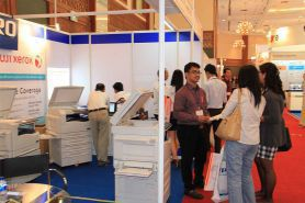 event Pameran Mesin Fotocopy ICT Senayan - Jakarta