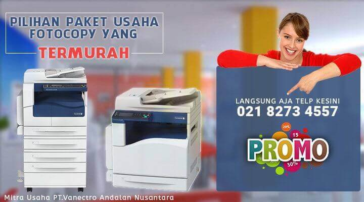 Jual Paket Usaha Fotocopy Murah Untuk Pemula 10Jutaan. Juni - 2018