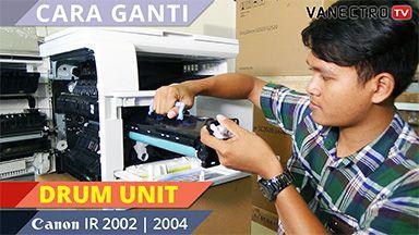 tutorial mesin fotocopy
