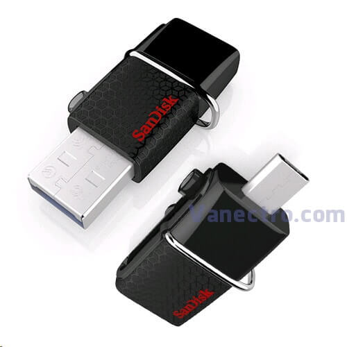 Sandisk USB OTG 16/32GB Iphone & Android