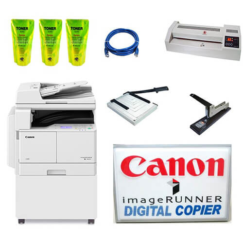 jual mesin fotocopy Canon - IR 2004N DADF - Paket Usaha Fotocopy Pemula